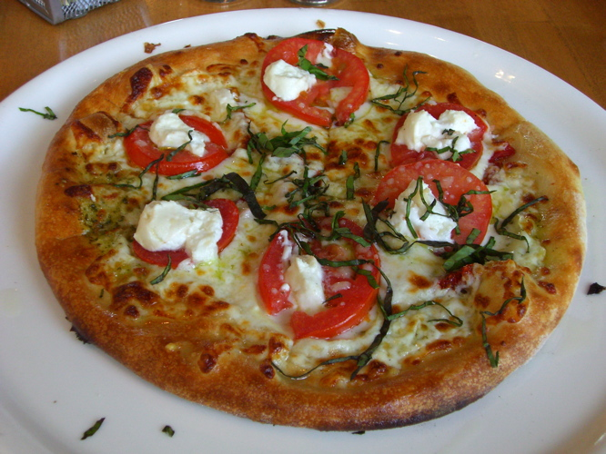 Four Cheese Pesto Pizza