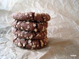 Oat Chocolate Cookies - Photograph: Lauren Roffey