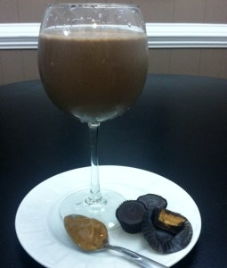 Protein Peanut Butter Cup Smoothie