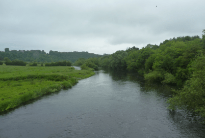 There's a lot of water in Meath.