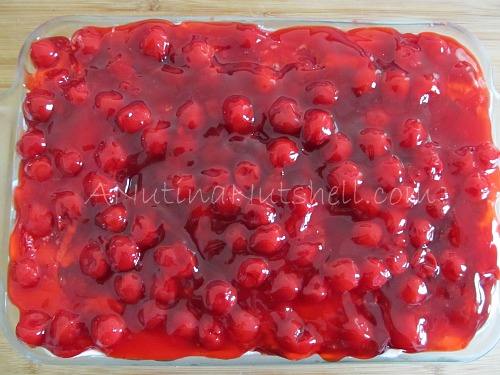 cherry-cream-cheese-delight with cherries on top