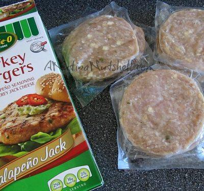 Jalapeno Jack turkey burgers