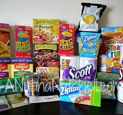 General Mills Box Top products