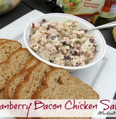 cranberry bacon chicken salad