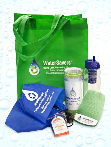 water savers prize pack