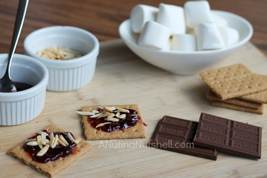 s'mores fixings