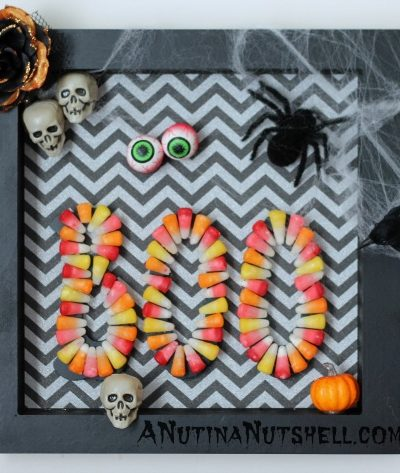Halloween box art craft