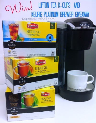 Lipton and Keurig prize pack