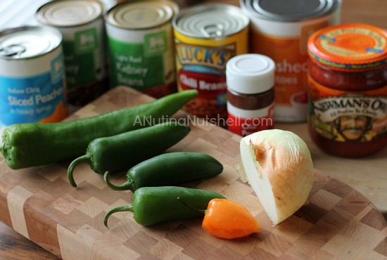 Spicy chili ingredients