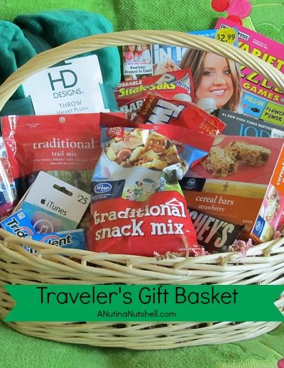 travelers gift basket