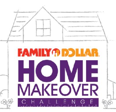 Family Dollar home makeover logo