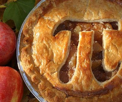 pie with pi sign