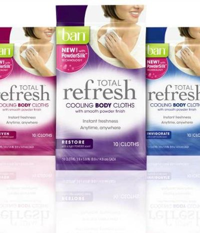 Ban Total Refresh Cooling cloths
