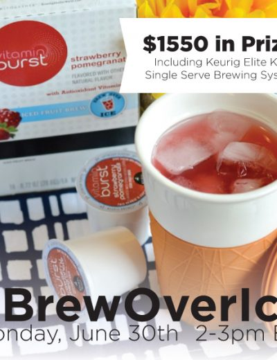 brew over ice banner