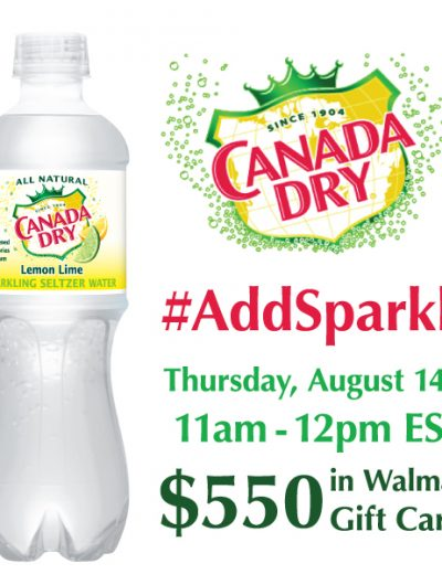 canada dry twitter party banner
