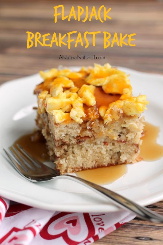 Flapjack Breakfast Bake recipe