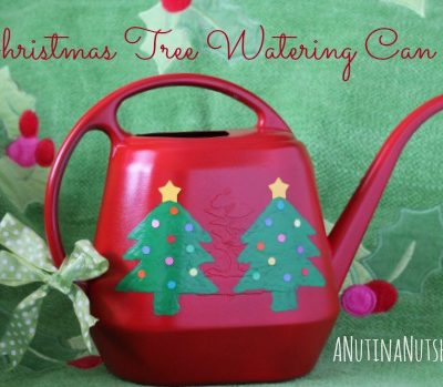 Christmas tree watering can