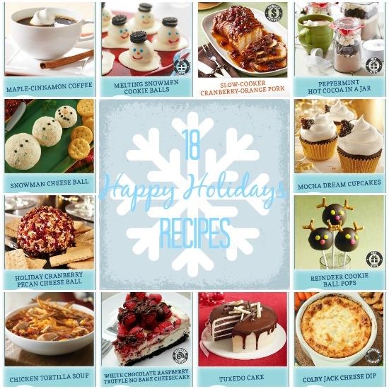 18 Happy Holidays Recipes