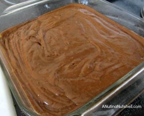 gingerbread cake batter made with SPLENDA