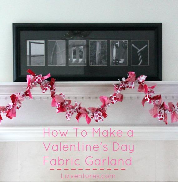 Valentine\'s Day garland
