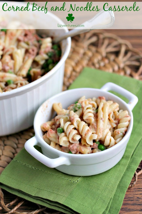 Corned Beef and Noodles Casserole