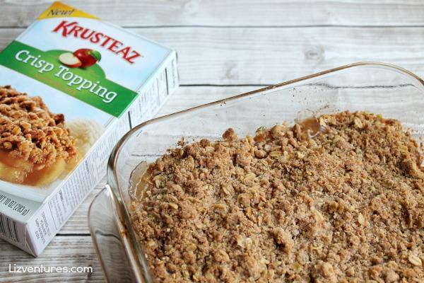 Krusteaz Crisp topping - apple crisp topping