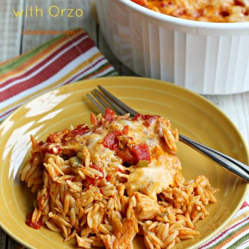chicken taco casserole with orzo
