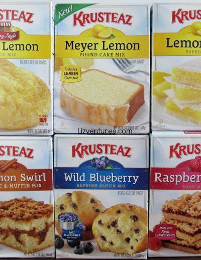 Krusteaz mixes