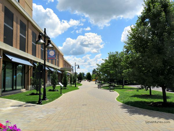B-Line Trail downtown Bloomington Indiana