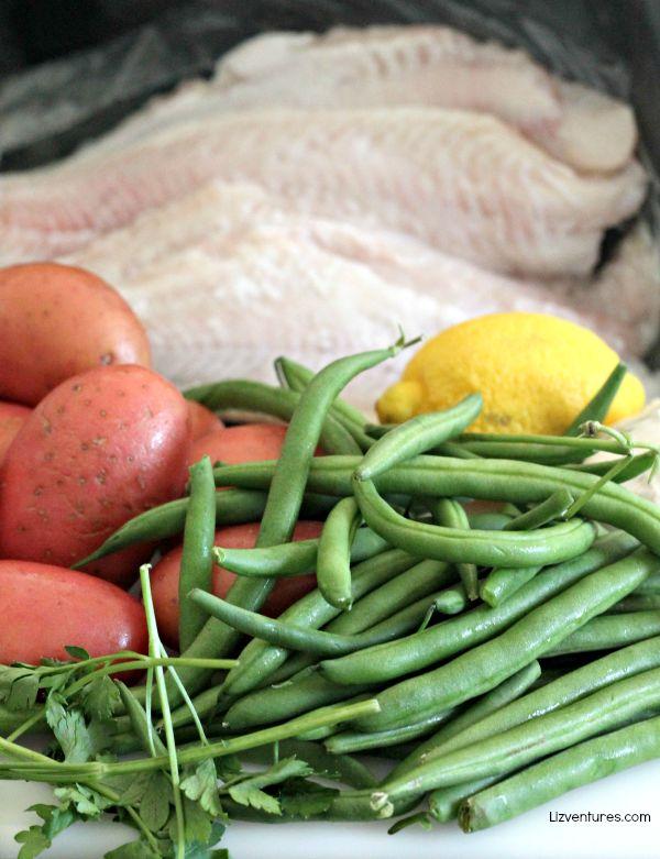 Crispy Catfish & Roasted Potatoes ingredients - Blue Apron
