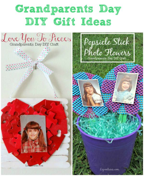 Grandparents Day DIY Gift Ideas