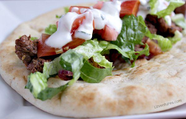 Steak Gyros recipe