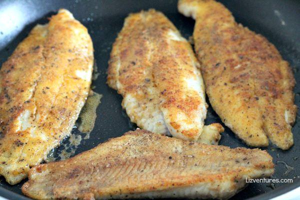 crispy catfish filets - Blue Apron