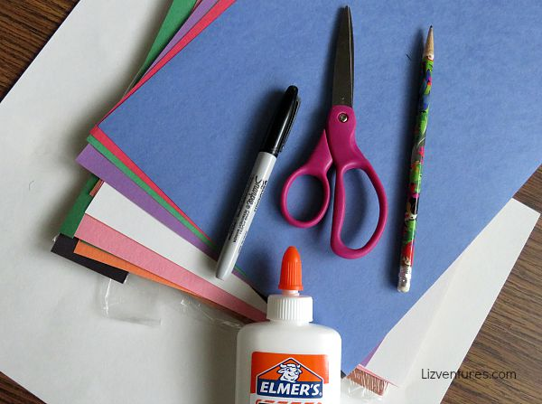 monster bookmarks - craft supplies