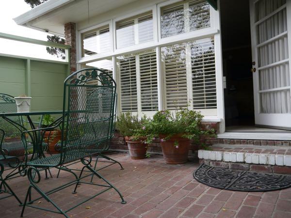 Carmel Garden Inn patio