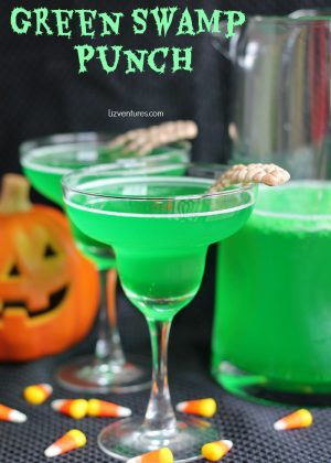 green punch in glass