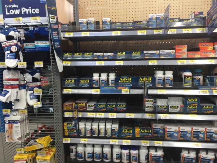 Advil Walmart