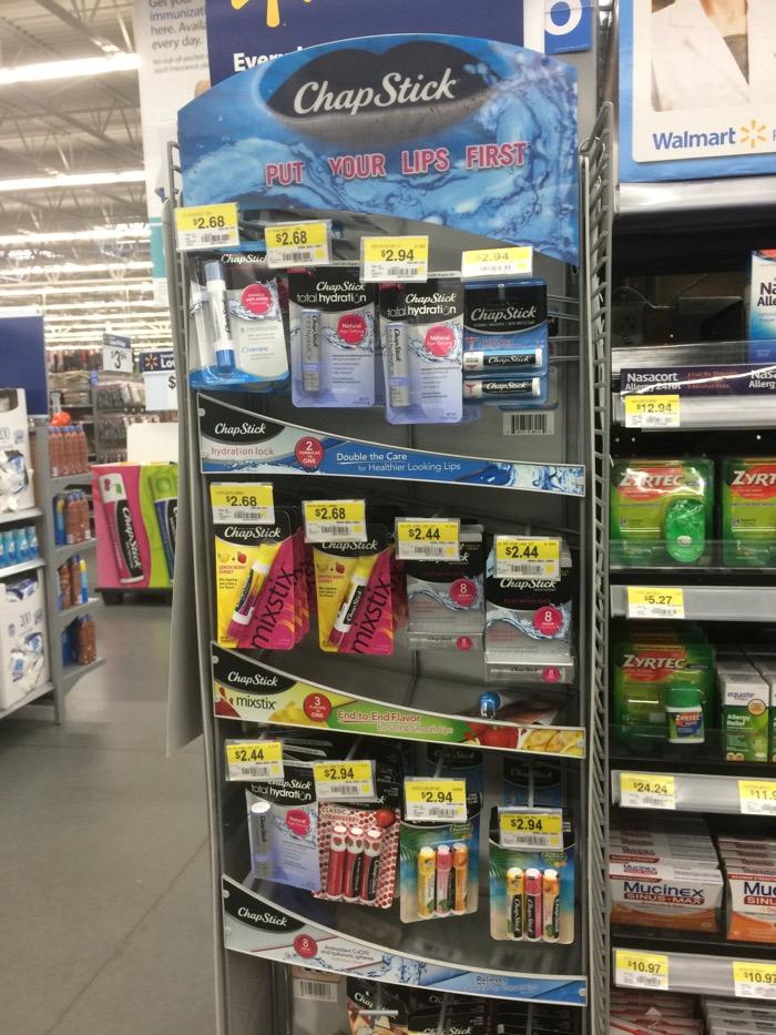 Chapstick Walmart