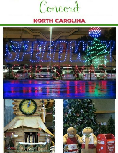 Speedway Christmas Lights poster