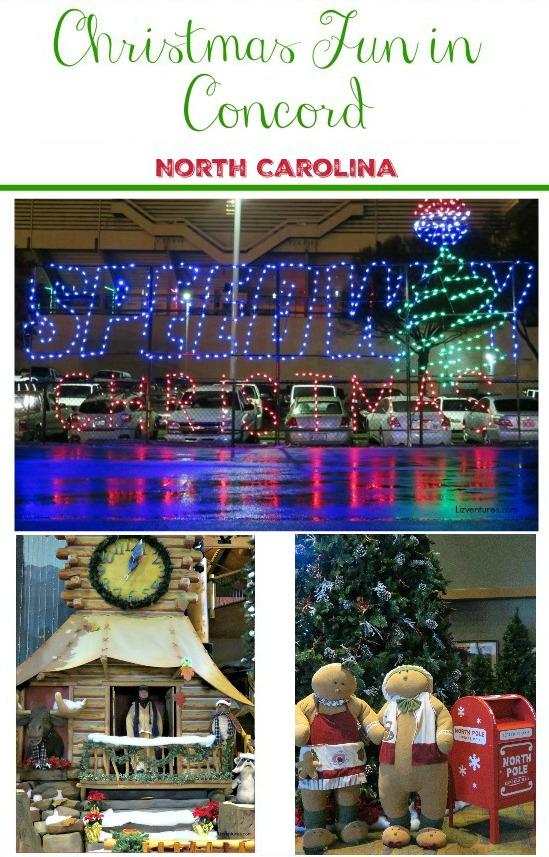 Christmas Fun in Concord NC