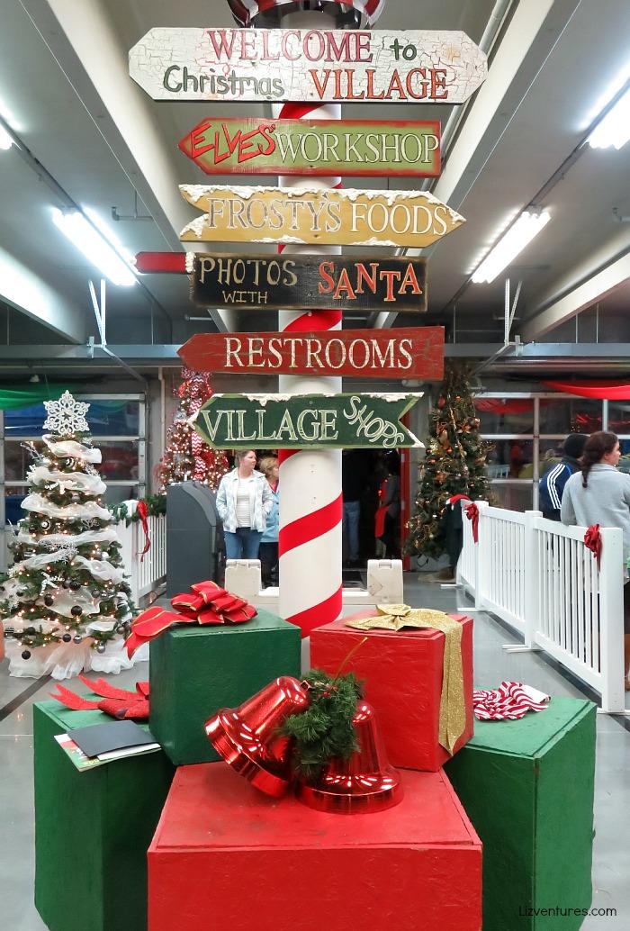 Christmas Village - Speedway Christmas