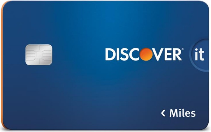 Discover it Miles Card - chip technology