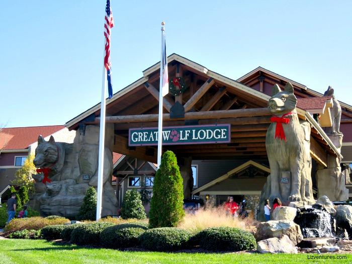 Great Wolf Lodge - Concord NC - Christmas decor