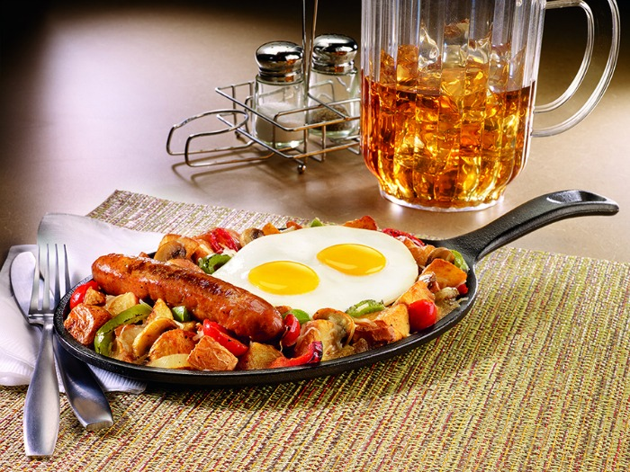Holiday Harvest Skillet - Denny's holiday menu