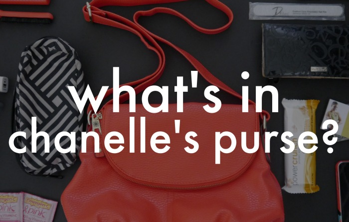 What's In My Purse? Featuring purse essentials from Pfizer: Chapstick Total Hydration, Emergen-C, and Advil LiquiGels!