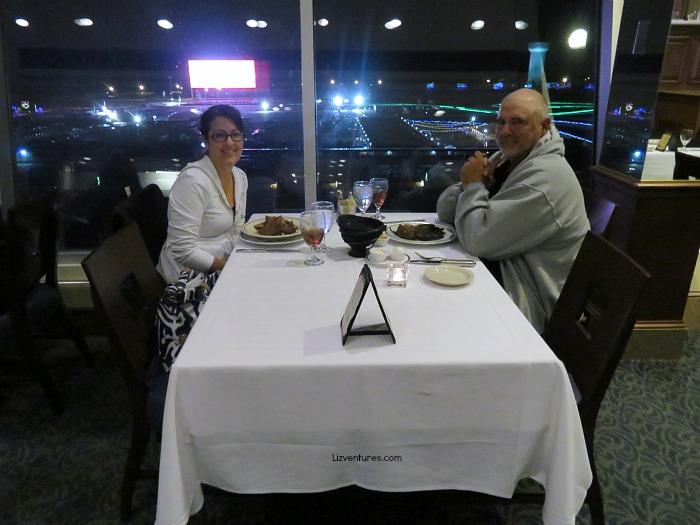 dinner at Speedway Club - Charlotte Motor Speedway