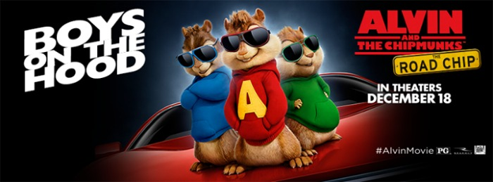 Alvin and the Chipmunks banner