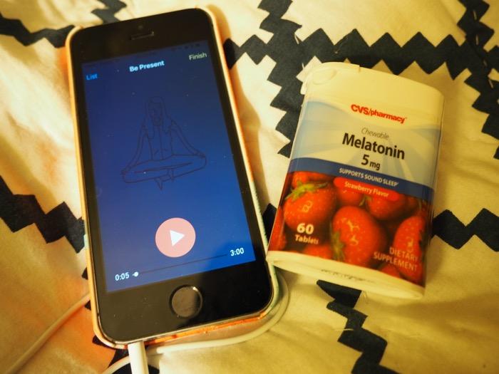 CVS Night Routine Melatonin