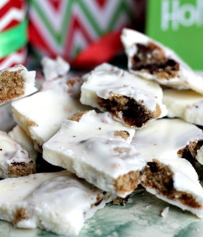 chocolate chunk cookie bark