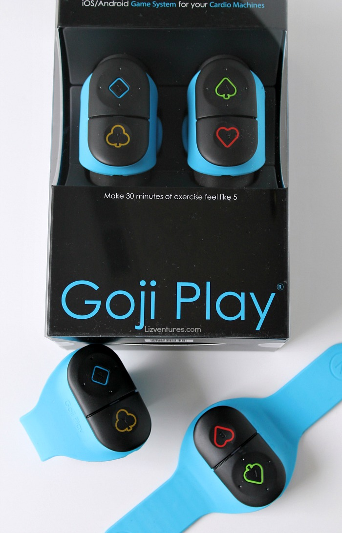 Goji play game system for cardio machines